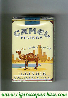 Camel Collectors Pack Illinois Filters cigarettes soft box