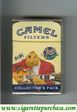 Discount Camel Collectors Pack Joes Place Bustah Filters cigarettes hard box