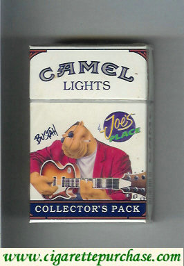 Discount Camel Collectors Pack Joes Place Bustah Lights cigarettes hard box