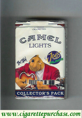 Discount Camel Collectors Pack Joes Place Bustah Lights cigarettes soft box