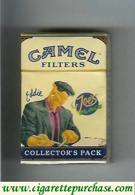 Discount Camel Collectors Pack Joes Place Eddie Filters cigarettes hard box