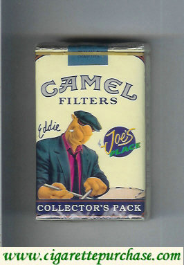 Discount Camel Collectors Pack Joes Place Eddie Filters cigarettes soft box