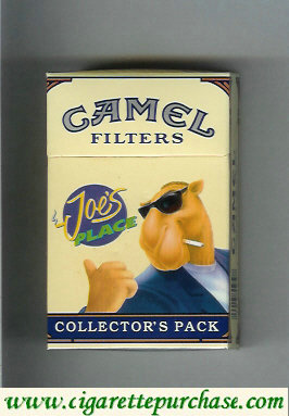 Discount Camel Collectors Pack Joes Place Filters cigarettes hard box