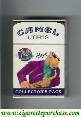Discount Camel Collectors Pack Joes Place Hoyd Lights cigarettes hard box