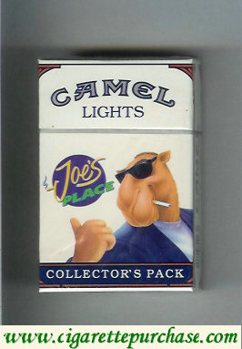 Discount Camel Collectors Pack Joes Place Lights cigarettes hard box