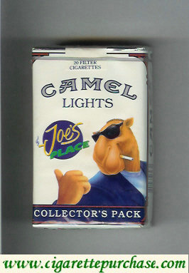 Discount Camel Collectors Pack Joes Place Lights cigarettes soft box