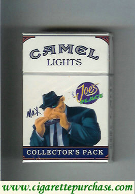 Discount Camel Collectors Pack Joes Place Max Lights cigarettes hard box