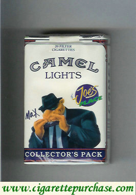 Discount Camel Collectors Pack Joes Place Max Lights cigarettes soft box