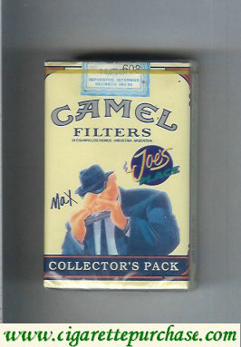 Discount Camel Collectors Pack Joes Place Max cigarettes soft box