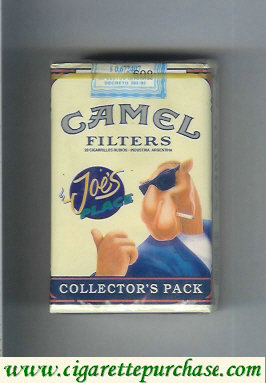 Discount Camel Collectors Pack Joes Place cigarettes soft box