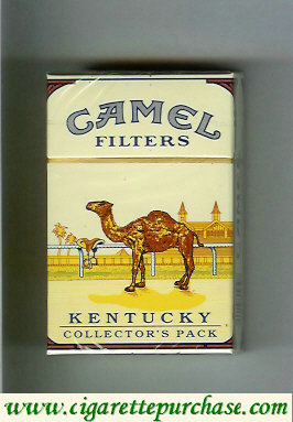 Camel Collectors Pack Kentucky Filters cigarettes hard box