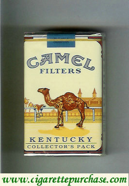 Camel Collectors Pack Kentucky Filters cigarettes soft box