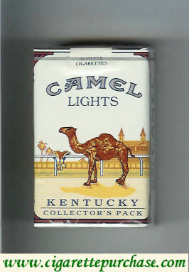 Camel Collectors Pack Kentucky Lights cigarettes soft box