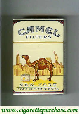 Camel Collectors Pack New York Filters cigarette hard box