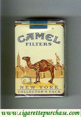 Discount Camel Collectors Pack New York Filters cigarettes soft box