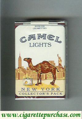 Discount Camel Collectors Pack New York Lights cigarettes soft box
