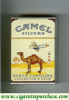 Camel Collectors Pack North Carolina Filters cigarettes hard box