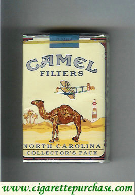 Camel Collectors Pack North Carolina Filters cigarettes soft box