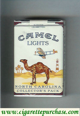 Camel Collectors Pack North Carolina Lights cigarettes soft box