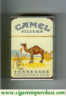 Discount Camel Collectors Pack Tennessee Filters cigarettes hard box