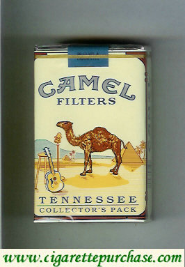 Camel Collectors Pack Tennessee Filters cigarettes soft box