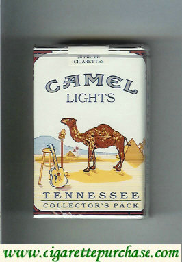 Discount Camel Collectors Pack Tennessee Lights cigarettes soft box