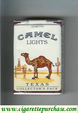 Discount Camel Collectors Pack Texas Lights cigarettes soft box