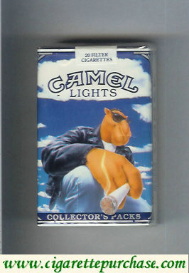 Discount Camel Collectors Packs 0 Lights cigarettes soft box