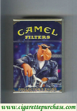 Camel Collectors Packs 1 Filters cigarettes soft box