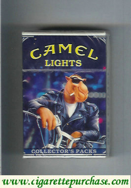 Discount Camel Collectors Packs 1 Lights cigarettes hard box