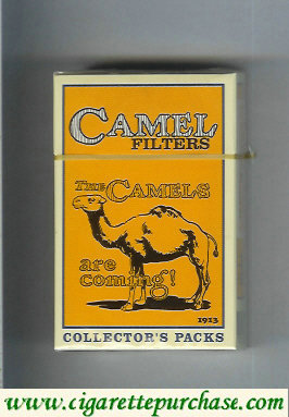 Discount Camel Collectors Packs 1913 Filters cigarettes hard box