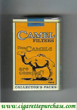Discount Camel Collectors Packs 1913 Filters cigarettes soft box