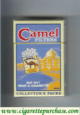 Discount Camel Collectors Packs 1915 Filters cigarettes hard box
