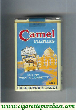 Discount Camel Collectors Packs 1915 Filters cigarettes soft box