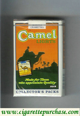 Discount Camel Collectors Packs 1918 Lights cigarettes soft box