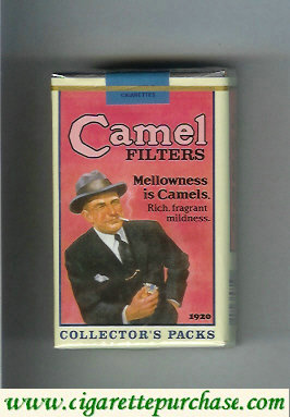 Discount Camel Collectors Packs 1920 Filters cigarettes soft box