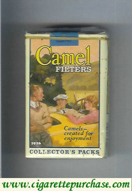 Discount Camel Collectors Packs 1926 Filters cigarettes soft box