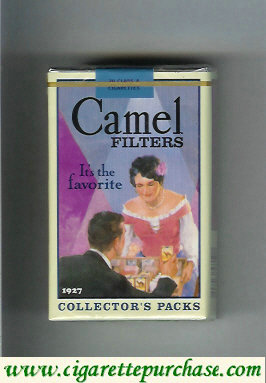 Discount Camel Collectors Packs 1927 Filters cigarettes soft box