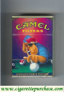 Discount Camel Collectors Packs 2 Filters cigarettes hard box