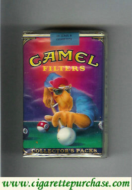 Discount Camel Collectors Packs 2 Filters cigarettes soft box