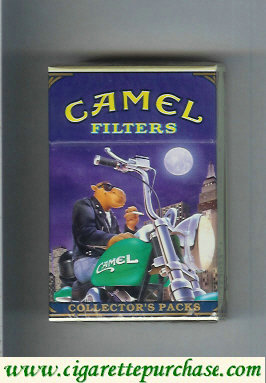 Discount Camel Collectors Packs 3 Filters cigarettes hard box
