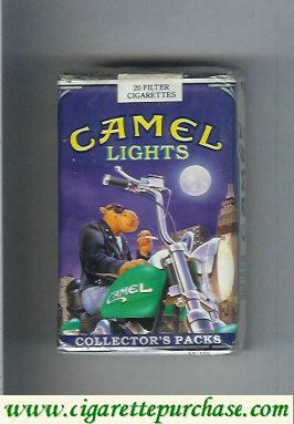 Discount Camel Collectors Packs 3 Lights cigarettes soft box