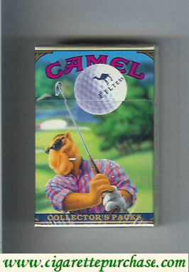 Camel Collectors Packs 4 Filters cigarettes hard box