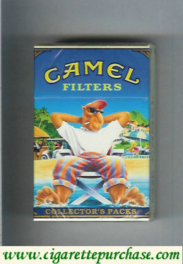 Discount Camel Collectors Packs 5 Filters cigarettes hard box