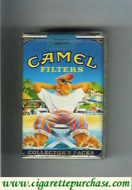 Discount Camel Collectors Packs 5 Filters cigarettes soft box