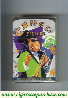 Discount Camel Collectors Packs 7 Filters cigarettes hard box