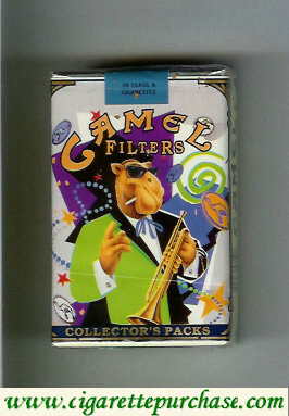 Discount Camel Collectors Packs 7 Filters cigarettes soft box