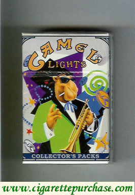 Discount Camel Collectors Packs 7 Lights cigarettes hard box