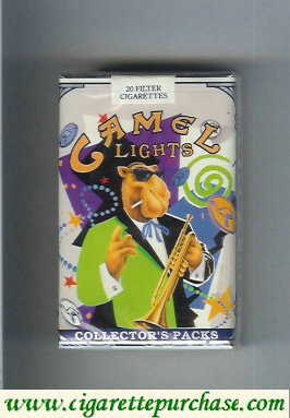 Discount Camel Collectors Packs 7 Lights cigarettes soft box