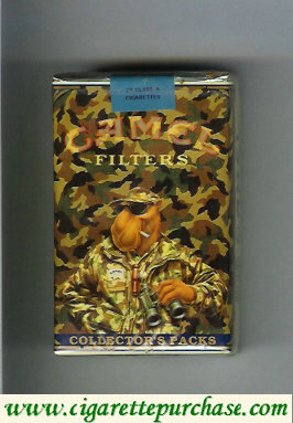 Discount Camel Collectors Packs 8 Filters cigarettes soft box